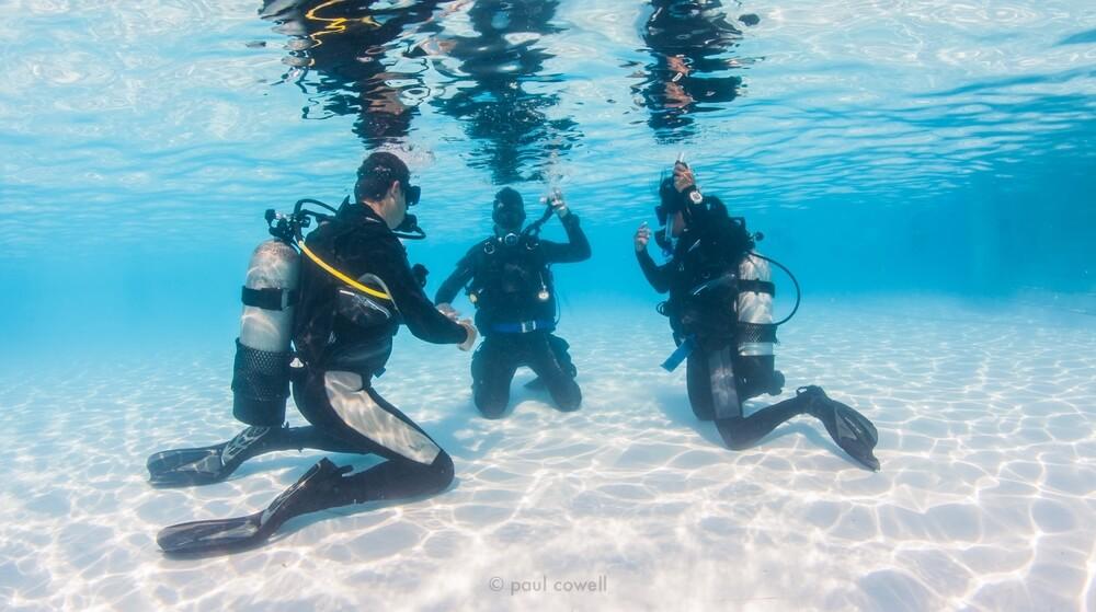 水肺潛水課程:平靜水域課程